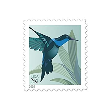 amazon com usps hummingbird 34 cent postage stamps booklet of 20