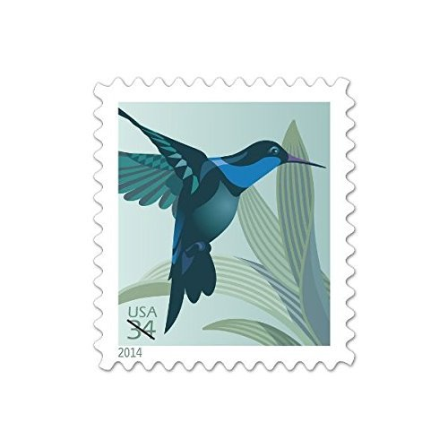 USPS Hummingbird 34 Cent Postage Stamps Booklet of 20 NEW
