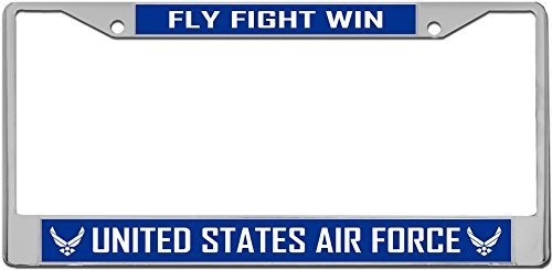 United States Air Force USAF Blue - License Plate Frame by Redeye Laserworks