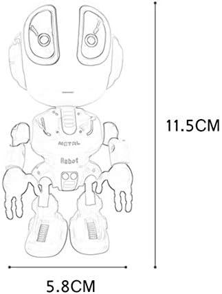 Tellaboull for Robot de voz Hablando Robots para niños Mini Metal ...