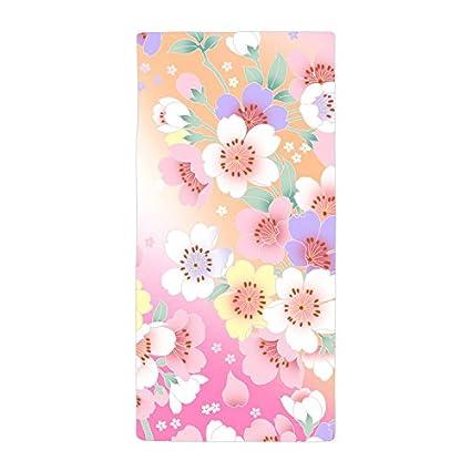 jesspad toalla de patrón de flores de colores de playa piscina toallas
