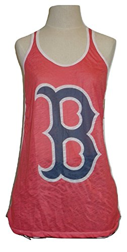 G-III Sports Boston Red Sox Women's Play time Flow Out Tank Top Red Sox Tank