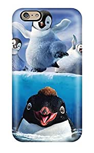 New CaseyKBrown Super Strong Happy Feet Two Tpu Case Cover For Iphone 6