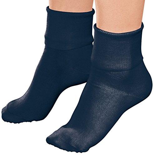 Buster Brown Ankle Socks - Navy - Large