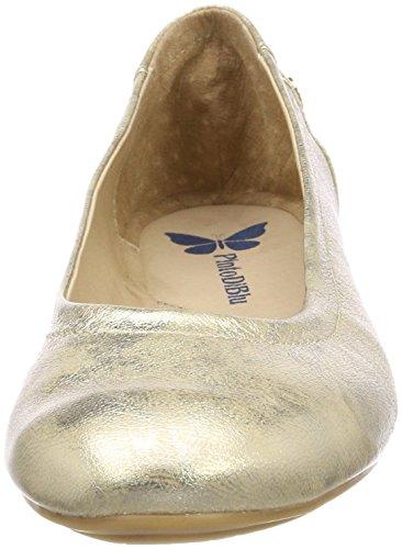 Pinto Di Blu Dames Oriole Gesloten Ballerina Goud (goud)