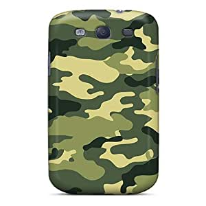 KerryParsons Samsung Galaxy S3 Scratch Resistant Hard Phone Case Provide Private Custom Fashion Green Day Pattern [Hzj17165BqDH]