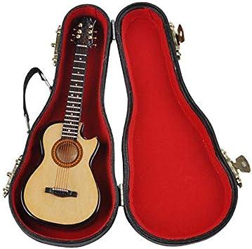 MG-245 Mini Venta de Adornos Musicales Guitarra Miniatura ...