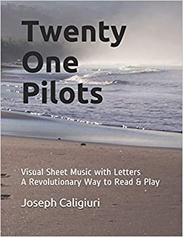 Twenty One Pilots: Visual Sheet Music with Letters