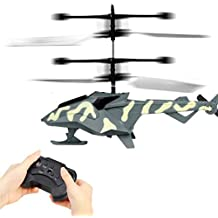 Mini RC Helicopter,Cocal Cool Infrared Remote Control RC Toy 2CH Gyro Helicopter RC Drone Great Gift for Kid (Camouflage)