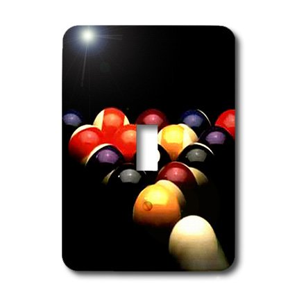 lsp_719_1 Billiards - Billiards Pool - Light Switch Covers - single toggle (Best Electric Pool Coverss)