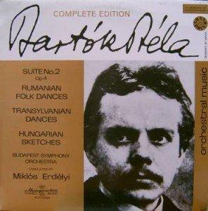 COMPLETE EDITION - BELA BARTOK: SUITE NO. 2, OP. 4 ~ ROMANIAN FOLK DANCES (1917) ~ TRANSYLVANIAN DANCES (1931) ~ HUNGARIAN SKETCHES (1931) ~~ BUDAPEST SYMPHONY ORCHESTRA CONDUCTED BY ERDELYI MIKLOS