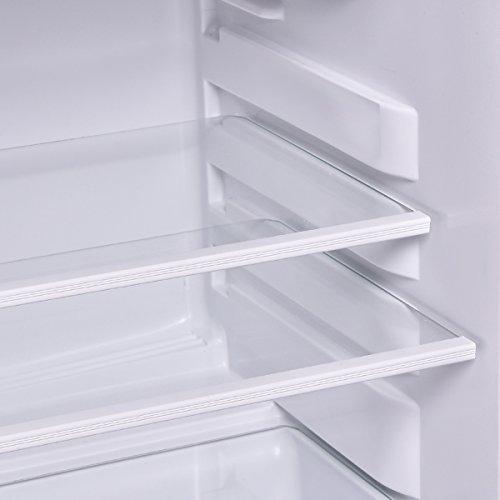 Costway 3 4 cu  ft  2 Door Compact Mini Refrigerator Freezer