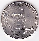 2010-P U.S. Jefferson Nickel, Uncirculated Condition