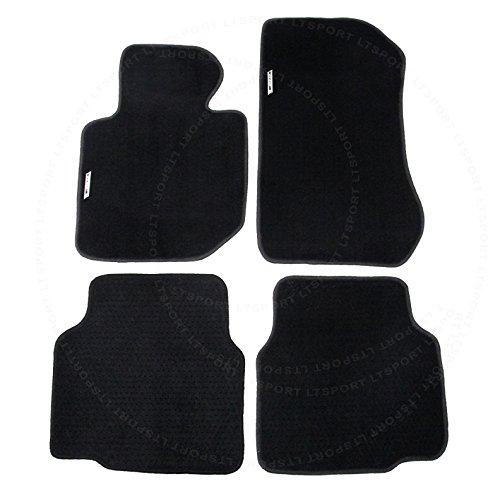 E36 Series 3 Door 2 - LT Sport Custom Fit 91-98 BMW 3-Series 2 and 4 Door E36 Premium Nylon Floor Mats Carpet