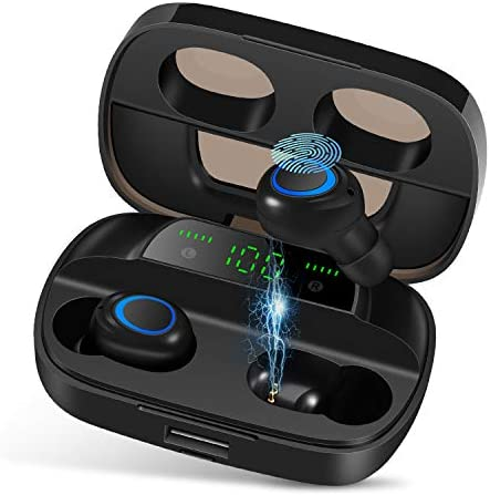 Orangeck Auriculares Inalámbricos Bluetooth