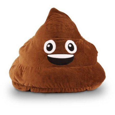 GoMoji Bean Bag – Poo Brown