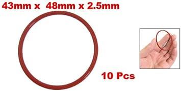 Menge 3 St/ück Dichtringe//O-Ringe 81 x 3 mm NBR 70