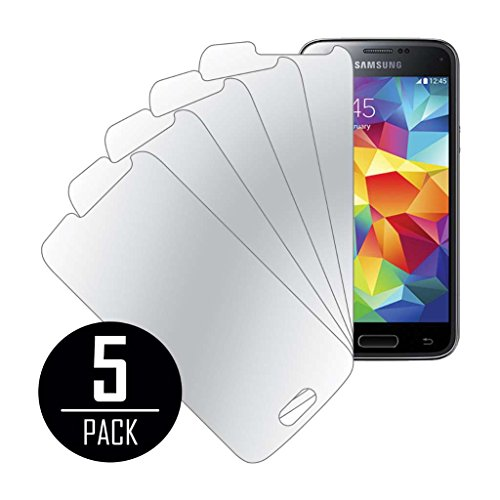 Samsung Galaxy S5 Mini Screen Protector Cover, MPERO Collection 5 Pack of Mirror Screen Protectors for Samsung Galaxy S5 Mini