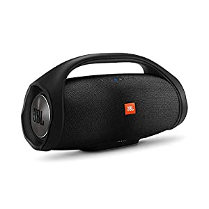 JBL Boombox, Wireless Portable Bluetooth Speaker with Massive 24Hrs Playtime, Monstrous Sound with Powerful Bass…