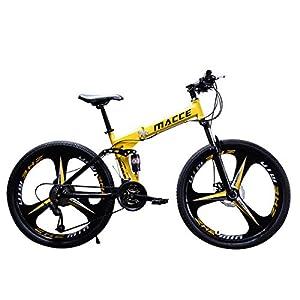 41tV4T21hKL. SS300 Adulti mountain bike 21/24/27 velocità Off-Road doppio shock di assorbimento della bicicletta 24/26 pollici alta…