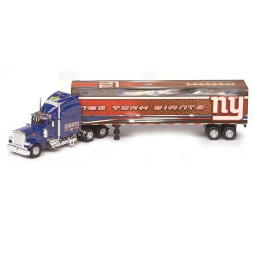 (New York Giants Upper Deck Collectibles NFL Peterbilt Tractor-Trailer)