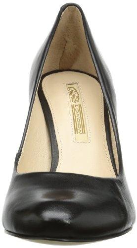 Buffalo London 007X-002 NAPPA SOFT - Cerrado de cuero mujer negro - Schwarz (BLACK 01)