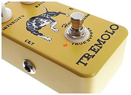 Efecto para Guitarra Eléctrica Harley Benton Vintage trémolo: Amazon.es: Instrumentos musicales
