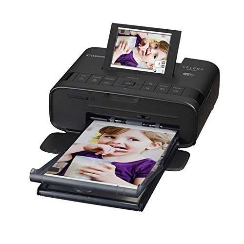 Canon SELPHY Photo Printer KP-108IN Paper + Battery Cloth Value Printing Bundle