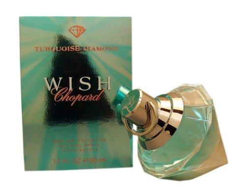 Amazoncom Wish Turquoise Diamond By Chopard For Women 17 Oz Eau