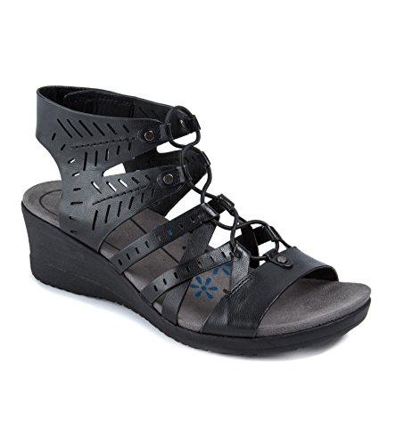 Sandalo Tiffany Delle Donne Di Baretraps Il Nero