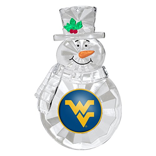 NCAA West Virginia Mountaineers Traditional Snowman Ornament