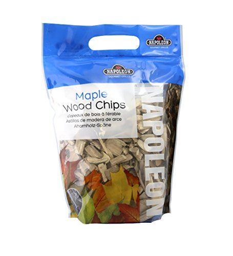 Napoleon 67002 Maple Wood Chips, 2-Pound Bag