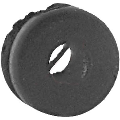Dantona Industries, Inc. GRM-210, Grommet, Round; 1/8 in.; Rubber; 1/16 in.; 11/32 in.; 3/16 in.; 1/4 in.