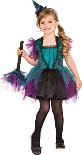 Rubies Costume Child's Bewitching Witch Costume, X-Small, Multicolor