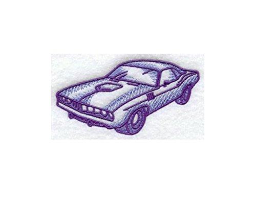 Plymouth Barracuda Classic Car Custom Embroidered Sweatshirt - Women Plymouth