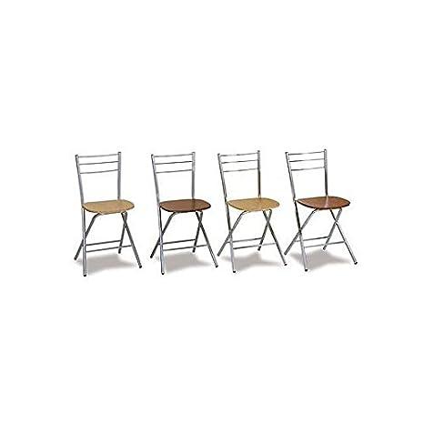 Estea Mobili - 110924097830 - Silla plegable con asiento de ...