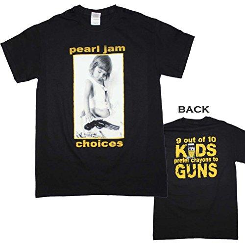 Unique Vintage Pearl Jam Choices T-Shirt Large High Quality Desiqn (Vintage Pearl Jam)