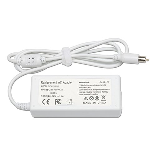 Ibook Laptop Notebooks (Reparo 65W Replacement Ac Laptop Adapter Charger for Apple Powerbook G4,iBook,iBook G4,white A1021)