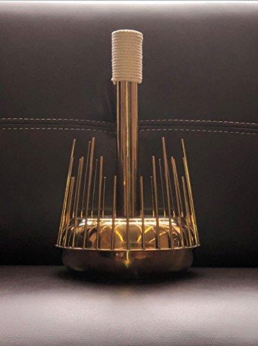 Waterphone Horror Sound Percussion Theremin Weird Movie Music Luxury Gold  Handmade Unusual Instrument