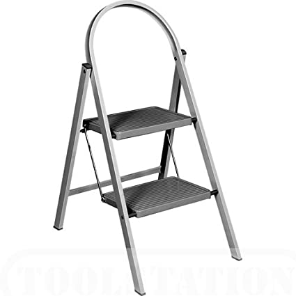 Amazing Abru Handy Step Stool 2 Tread Bralicious Painted Fabric Chair Ideas Braliciousco