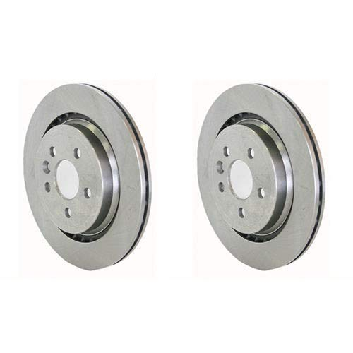 Genuine S80 (07-) Rear Brake Discs (Vented Discs & Electric Hbrake) (Pair):