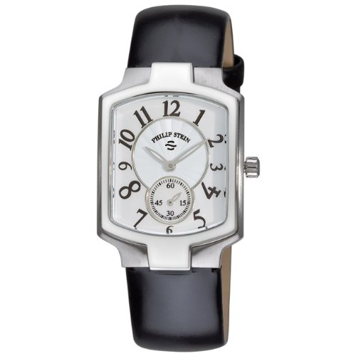 Philip Stein Women's 21-FMOP-LB Classic Stainless Patent Leather Watch
