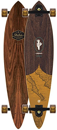 (Arbor Fish 37 Groundswell Longboard Complete New 2018)