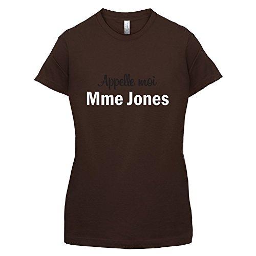 Apelle Moi Madame Jones - Femme T-Shirt - Maron Foncé - XL