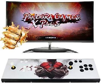 Theoutlettablet@ - Pandora Games X Plus con 3303 Juegos Retro Consola Maquina Arcade Video Gamepad VGA/HDMI/USB