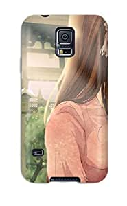 New Premium NewArrivalcase Romantic Kiss Anime Skin Case Cover Excellent Fitted For Galaxy S5