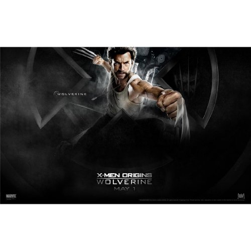 X-Men Origins Wolverine Poster by Silk Printing # Size about (56cm x 35cm, 22inch x 14inch) # Unique Gift # CEED68