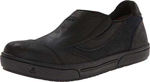 KEEN Utility Men's Destin Slip-On PTC Work Shoe, Black, 10 D US (Slip Men Keen Non Shoes)
