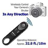 Wireless Camera Remote Control Shutter Release for Canon EOS Rebel SL2 (200D), M50, EOS RP, R, 6D Mark II, 77D, PowerShot SX70 HS, EOS Rebel T7i (800D)