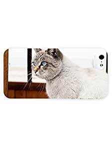 3d Full Wrap Case For Iphone 6 Plus 5.5 Inch Cover Animal Beautiful Blue Eyes